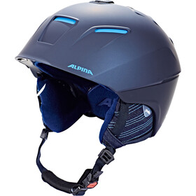 Alpina Cheos Casque, nightblue-denim matt